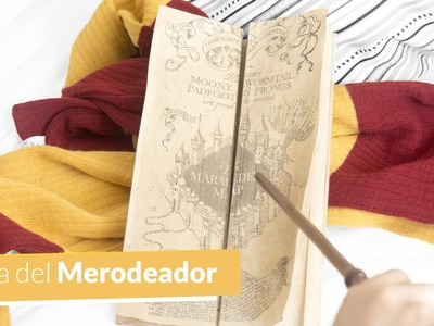DIY MAPA DEL MERODEADOR | The Marauders's Map DIY