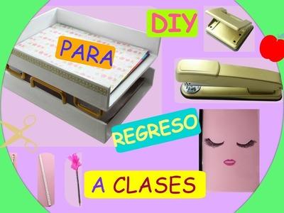 DIY  para el regreso a clases