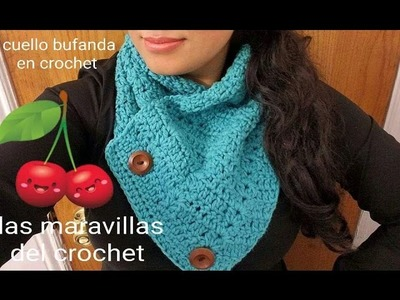 Bufanda en crochet (ganchillo)