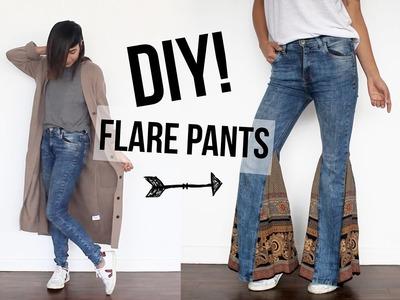 DIY! Haz tus propios Flare Pants!