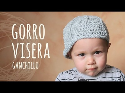 Tutorial Gorro Con Visera Ganchillo | Crochet (Todas las Tallas)