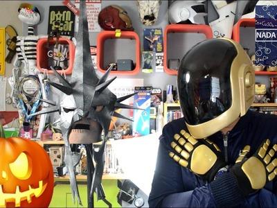 Como hacer cualquier mascara o casco facil para este Halloween DIY | NQUEH