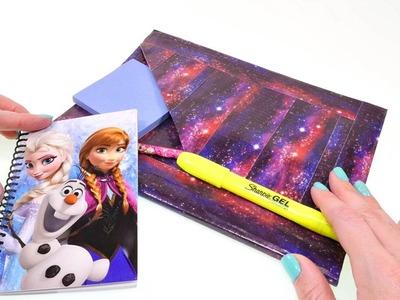DIY Haz tu Propio Cuaderno de Galaxia Utilizando Duck Tape
