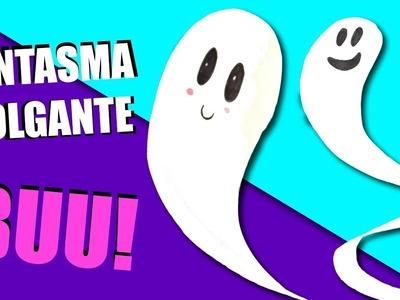 Haz un fantasma colgante para decorar tus fiestas para HALLOWEEN   Manualidades Ani Crafts