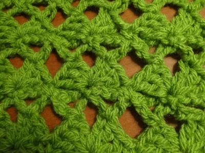 Puntada sencilla y fácil a crochet. Muestra No. 78