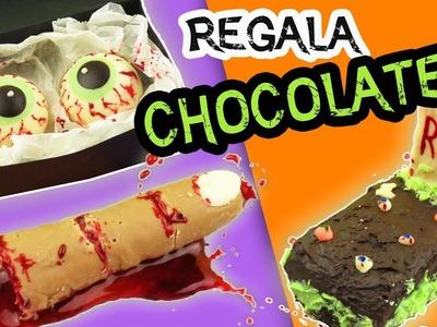 REGALA CHOCOLATES  en Halloween - DIY Día de los Muertos