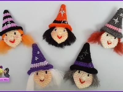 Tutorial bruja crochet