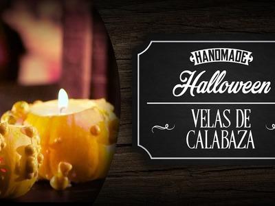 Velas De Calabaza - DIY Halloween
