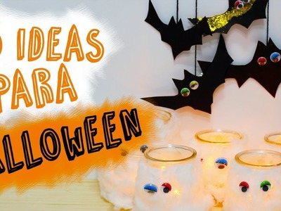 3 Ideas de Manualidades para Halloween | DIY Halloween