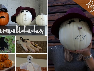 5 MANUALIDADES, REGALITOS & DECORACIONES PARA HALLOWEEN!!! REGALITOS PARA NIÑOS Y ADULTOS!!!