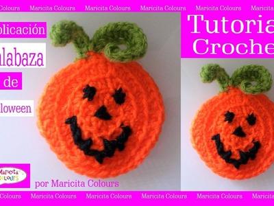 Calabaza de Halloween a Crochet por Maricita Colours Tutorial Gratis