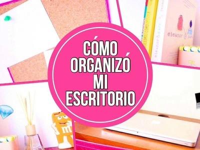 ¿Cómo decoro.organizó mi escritorio? + DIY || Valeria Rodríguez