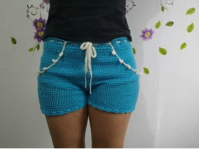Cómo hacer un SHORT a Crochet   Ganchillo  Ideal Principiantes