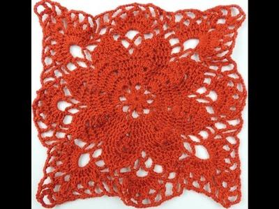 Crochet: Cuadrado # 17 y Uniones