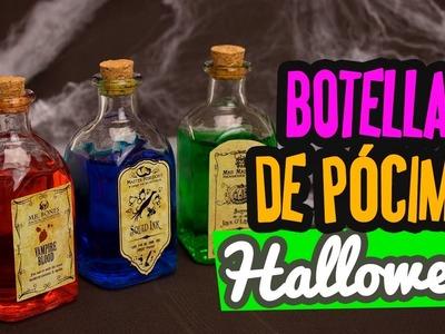 Decoraciones fáciles para Halloween   Pócimas mágicas para decorar ✄ Manualidades Halloween Catwalk