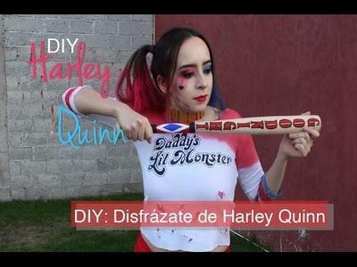 DIY: DISFRAZ HARLEY QUINN (Hazlo tú mismo). Suicide Squad Movie. Tefy's Avenue