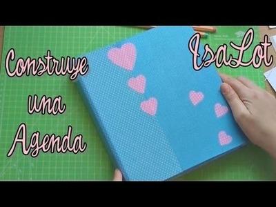 DIY Como hacer una agenda fácil y barata