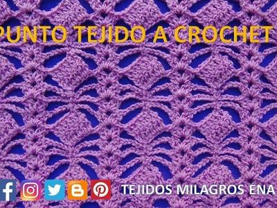 Punto para Blusas tejidas a crochet N° 20 - Points crocheted