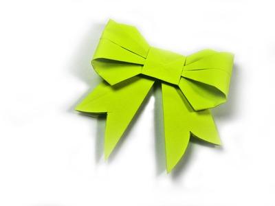 Como hacer un mono de papel origami