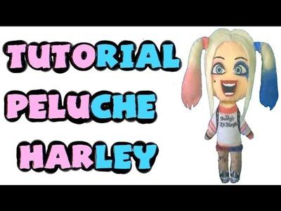 Cómo hacer un peluche de Harley Quinn - Tutorial Suicide Squad