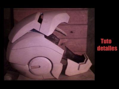 Cómo masillar casco de iron man