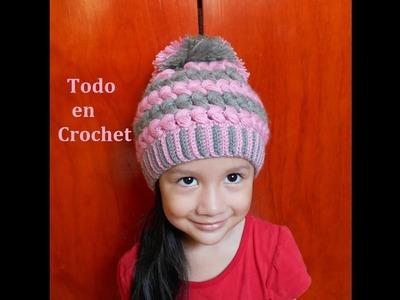 GORRO SLOWCHY PARA NIÑOS Y ADULTOS. SLOUCHY HAT FOR CHILDREN AND ADULTS.
