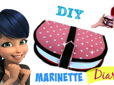 TUTORIAL DIARIO DE MARINETTE - DIY MARINETTE DIARY (ENGLISH SUBTITLES)