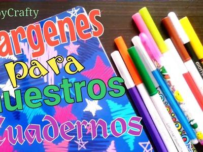 6 IDEAS DE MÁRGENES PARA DECORAR NUESTROS CUADERNOS!.AbbyCrafty