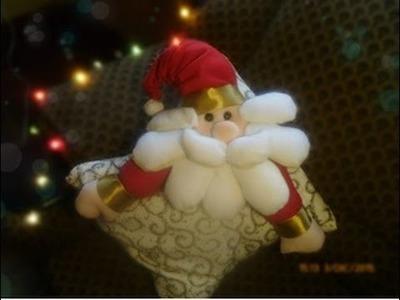 Cojín navideño - Papa Noel