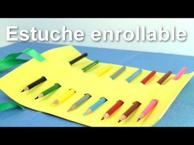 Cómo hacer un estuche enrollable | facilisimo.com