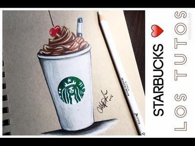 STARBUCKS DRAW - DIBUJO DE UN STARBUCKS (super Fácil)