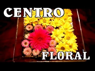 Centro floral muy duradero con flor natural - CENTER OF TABLE OF FLOWERS