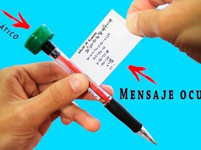 Como Hacer Trampa en un Examen con un Bolígrafo