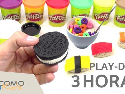 Haz comida con Play Doh - Plastilina Play-Doh en español