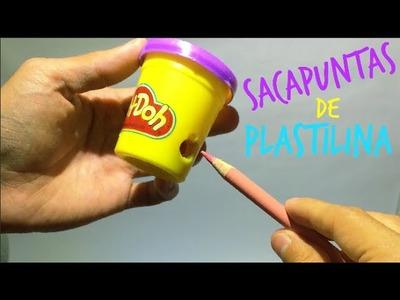 HAZ UN SACAPUNTAS DE PLAY DOH!