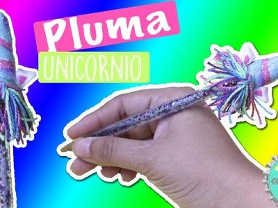 Pluma Unicornio! Decora lápices y plumas. Floritere