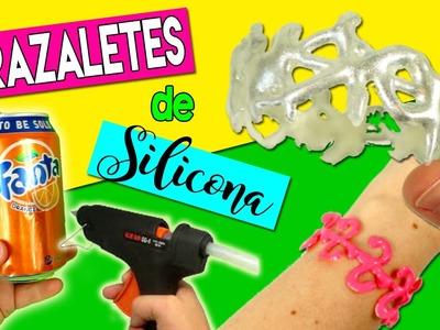 PULSERAS de SILICON caliente * BRAZALETES de silicona