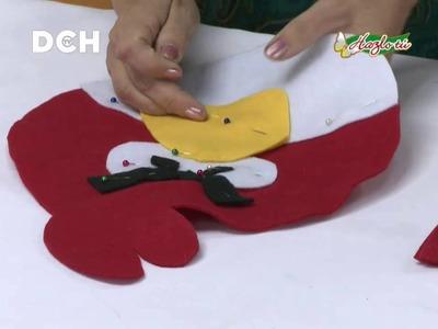 Angry Bird en pañolenci - Yasna Pino - Casa Puchinni