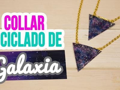 Collares Reciclados de Botellas | ¡Collares de Galaxia Super Fáciles! | Mini Tip #102 Catwalk
