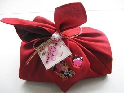 Como empacar regalo, tecnica de empacar regalo al estilo Japonés (furoshiki)