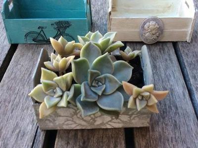 Cómo hacer cajas de fruta o huacales en miniatura - Parte 2.2