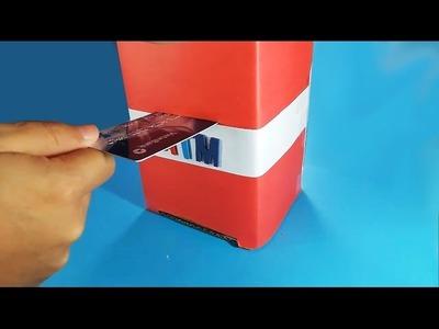 Como hacer cajero automático - alcancía para los niños
