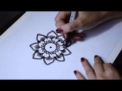 Dibujando un mandala