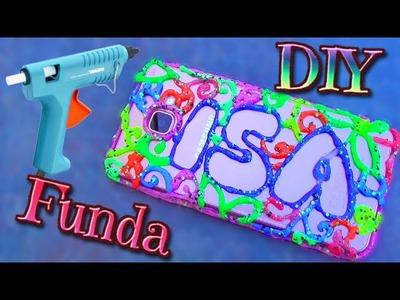Funda de movil o celular de Silicona Caliente con Nombre - Isa ❤️