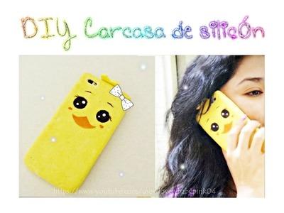 Funda para celular casera FACIL Y LINDA ♥.  how to make silicone phone cases