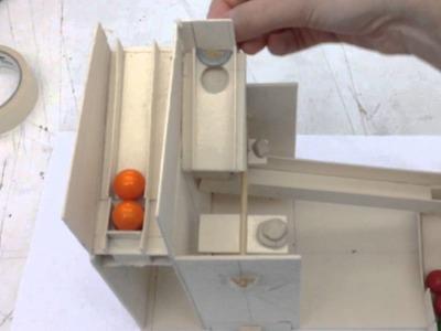 Maquina de chicles bolitas acrilico