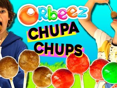 ORBEEZ comestibles CHUPA-CHUPS * PALETAS o helados de ORBEEZ