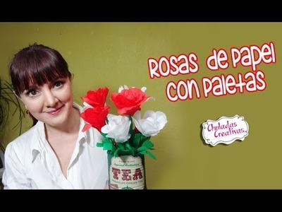 Rosas con Paletas al estilo Mexicano :: Chuladas Creativas