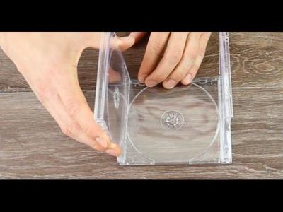¿Tienes aún cajas de CD por casa? ¡Ahora puedes hacer con ellas algo increíble!