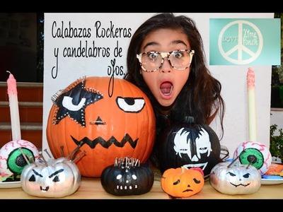 Calabazas Rockeras y Candelabros de Ojos. Halloween y KATY PERRY Video 8